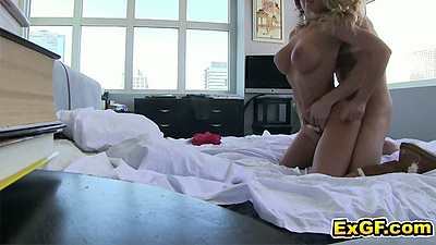 Rear entry sex with pov from slut ex gf Jennifer A.