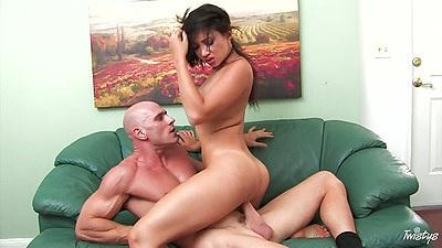 Asian doctor bitch Katsuni sits on patients cock