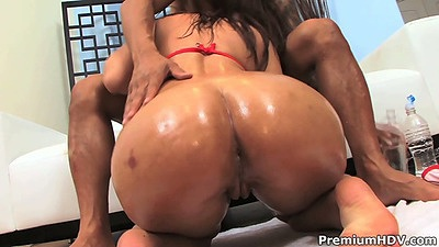 Oil ass bikini blowjob from Lexxxi Lockhart