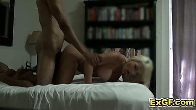 Doggy style amateur gf JackyJ. sex on bed