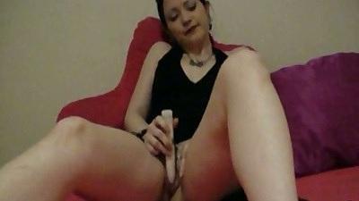 Gf Lola amateur masturbation and fingering with pov cock sucking