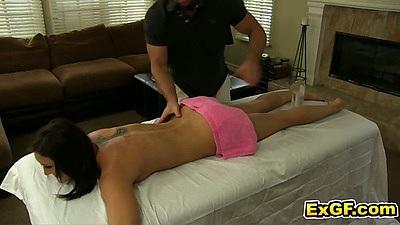 Oil massage with gf Sadie H