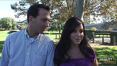 Brunette milf Victoria Valentino outdoor comes in for a wife swap