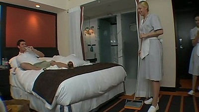 Maid service with Vicky and Hollie Stevens
