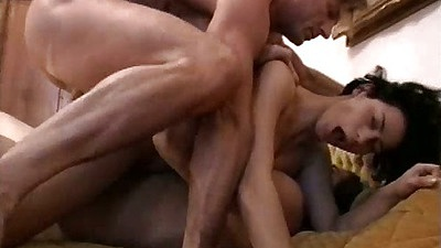 Double penetration with anal for hair pussy brunette Valentina Velasquez