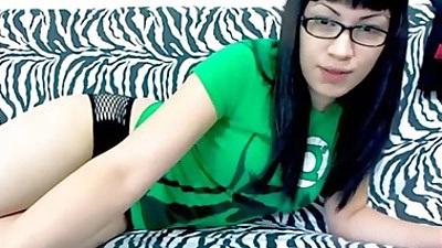 Petite latina Jade Rox posing solo home video amateur