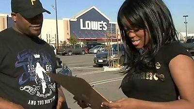 Ebony public Roxy Ray outdoors check up