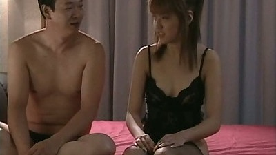 Asian in lingerie bondaged and tied up for sexual acts