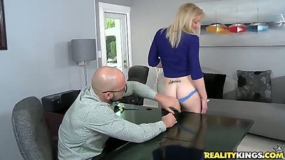 First sex video audition with girl in her bra and panties
