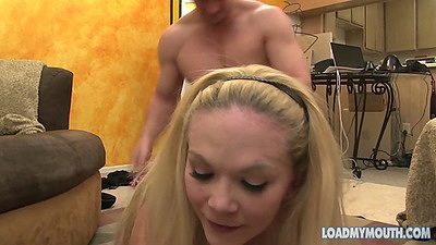 Brook Page rear entry penetration and sits on dick
