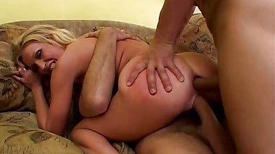 Double penetration rough sex with ass ripping for small Cameron James