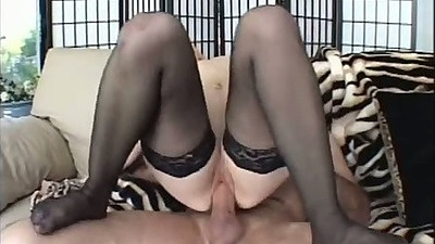 Reverse cowgirl jumping on dick with horny Kayla Marie