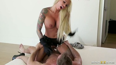 Cowgirl big tits real wife sex with milf Lolly Ink
