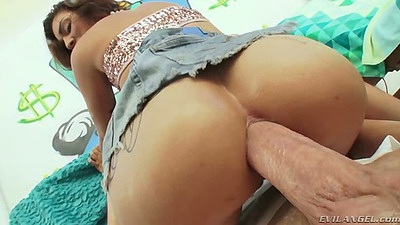 Cowgirl cowgirl sitting and sideways close up with Aimee Black doing ass to mouth