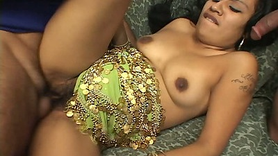 Ethnic indian hairy fuck with all natural tits Indira