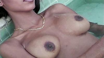 Ebony Crystal Knight hot and athletic gets fucked
