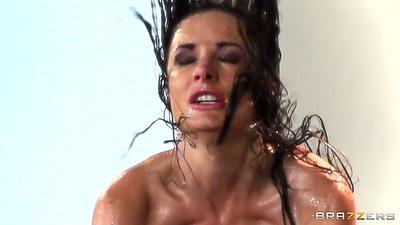 Hardcore wet sprinkler office sex with Alektra Blue