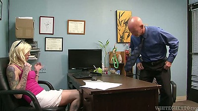 Transsexual Chelsea Marie office visit