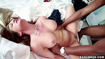 Hardcore front pounding interracial sex with amazing body Tory Lane
