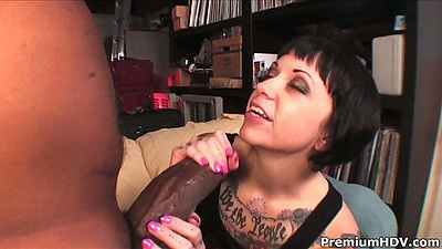 Big dick interracial blowjob and pussy licked Daisy Sparks