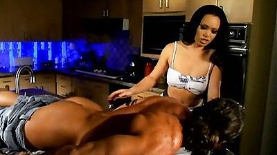 Massage and blowjob with Mya Luanna