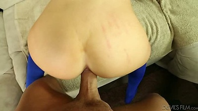 Teen tryout fuck including pov anal with Pressley Carter and a deep throat