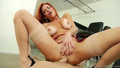 Anal redhead on dick fuck with pov from behind Veronica Avluv