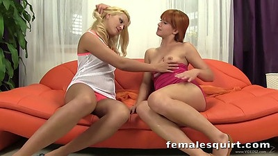 Touching and loving girl on girl pussy licking