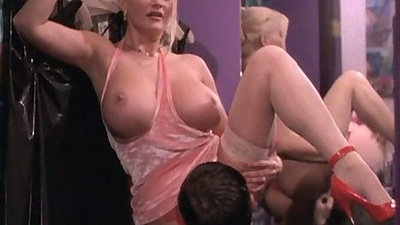 Closet fuck with Stacy Valentine in lingerie and pile driver