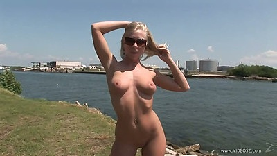 Reality stripping and solo naked girl outdoor Britney Brooks