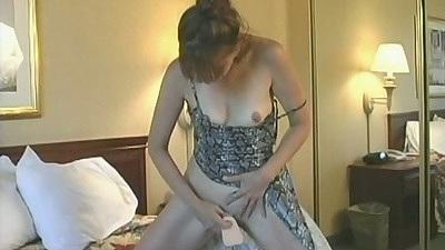 Sex toy mature girl fucking herself C.j.