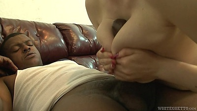 Titty fuck interracial with blonde Kristy Snow seeing the doctor