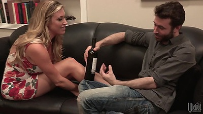 Having some chat with lovely Samantha Saint