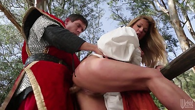 Fairy tale porn with standing fuck horny milf Shayla La Veaux