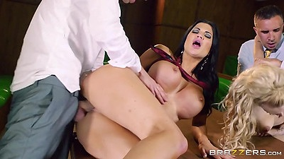 Sideways penetration with group actions Jasmine Jae and Loulou