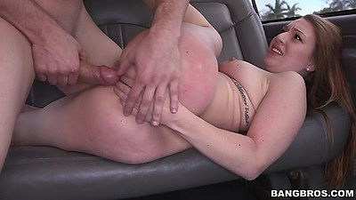 Montana Joleigh the collegle slut got paid to get naked and pumped on bangbus