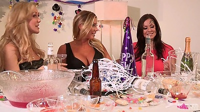 Having a party bash with Brandi Love