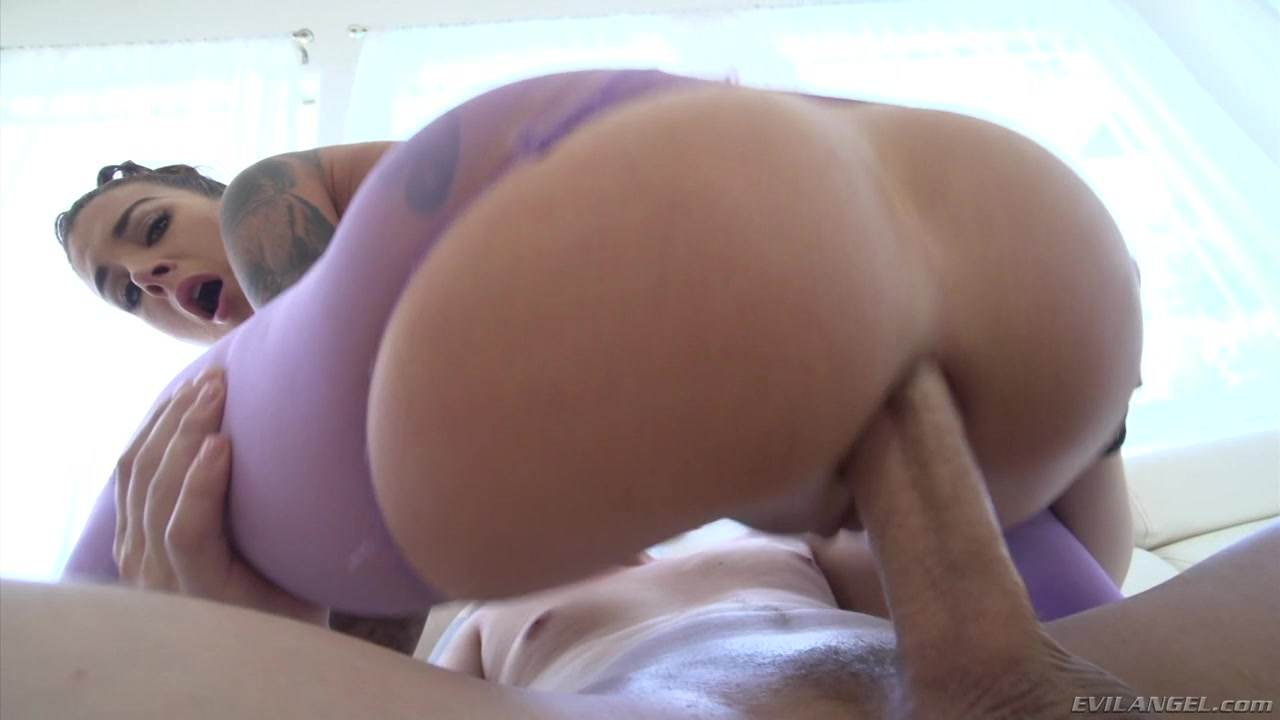 Anal with trouser